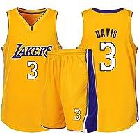 Anthony Davis # 3 Lakers Baloncesto Sin Mangas