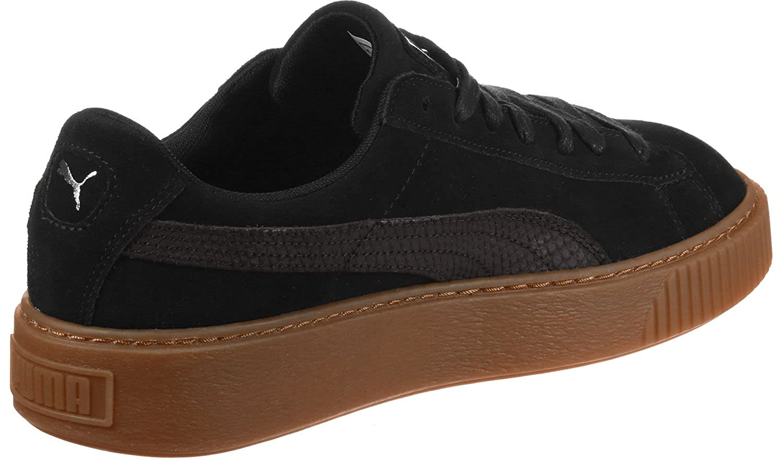 dfac0e59600 Puma Women s Suede Platform Animal Low-Top Sneakers  Amazon.co.uk  Shoes    Bags