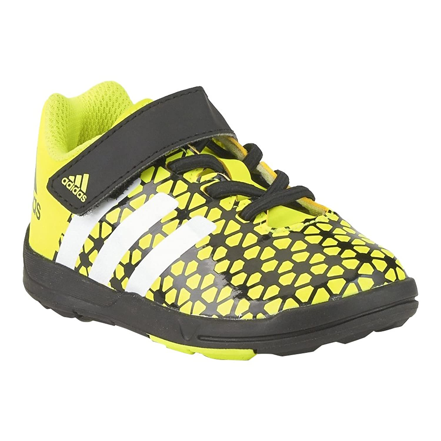 adidas Boys Infant Boys FB Ace Trainers in Yellow Black 5infant