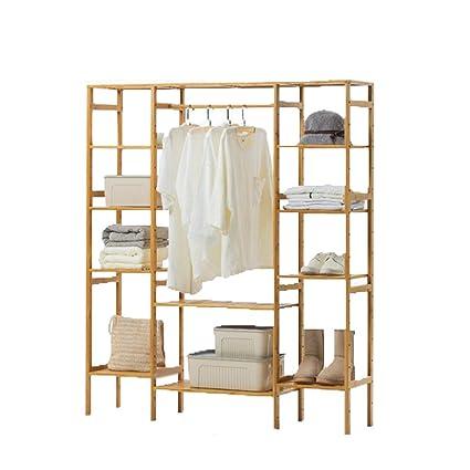 Amazon.com: COAT RACK Cabinet Type Simple Living Room Hanger ...