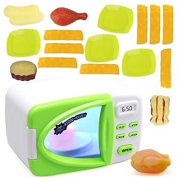 Amazon.com: keebgyy - Juego de cocina giratoria para niños ...