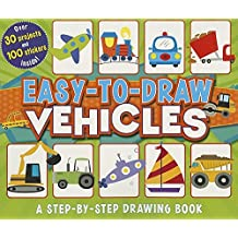 Easy-to-Draw Vehicles: A Step-by-Step Drawing Book (You Can Draw) by Mattia Cerato (2014-08-01)