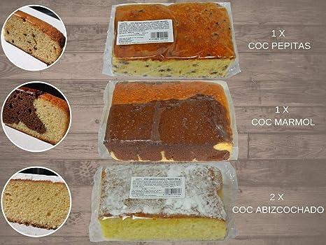 LAPASION - COC abizcochado, Coc Marmol, Coc Pepitas. Pack de ...