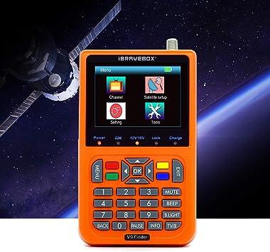 KKmoon Buscador de satélite digital V9 Buscador de satélite ...