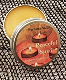 Peaceful Spirit Perfume Solid, Perfume Balm, 1 oz, Aromatherapy, Essential Oils, Calming Balm, Artisan Perfume, Natural Perfume, Anti-Stress