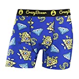 Crazy Boxer Illuminati Cartoon Underwear Boxer Briefs (Medium)