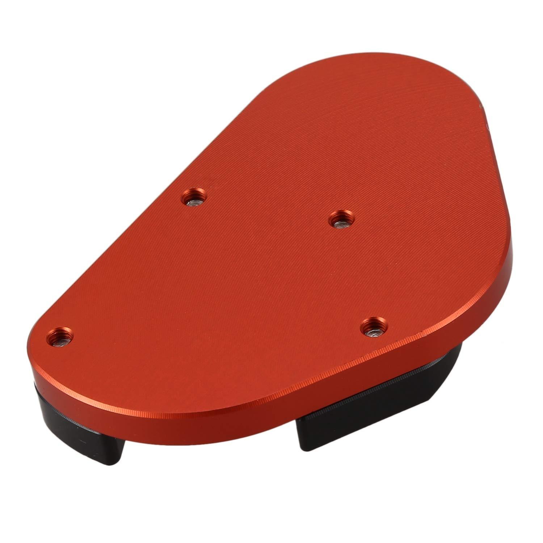 TOOGOO Universal Fit KTM DUKE 125 200 390 Kick stand Side Extension Plate Pad Aluminum 2 Color