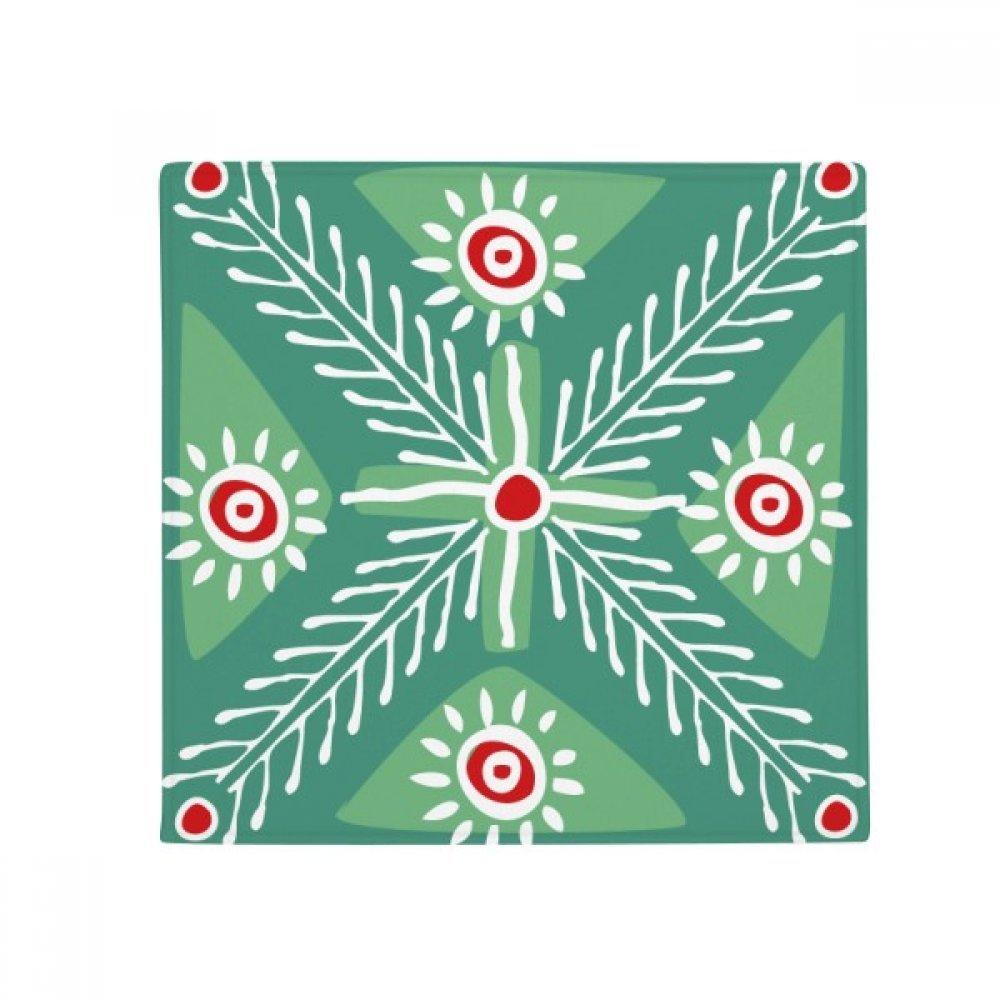 DIYthinker Green Wheat Mexico Totems Ancient Civilization Anti-Slip Floor Pet Mat Square Home Kitchen Door 80Cm Gift