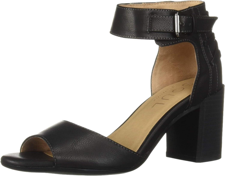 SOUL Naturalizer Women's Heeled Carmen Genuine Sandal 5 ☆ popular