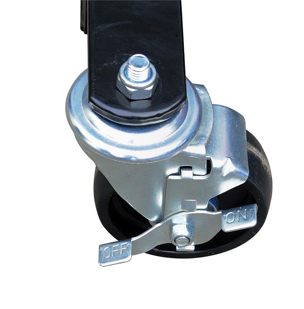 Sunex 7708 2-Ton Folding Engine Crane with Dual Pump Piston