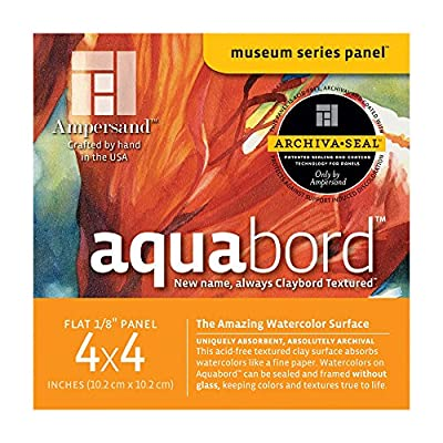 Ampersand Aquabord Panels for Watercolor and Gouache