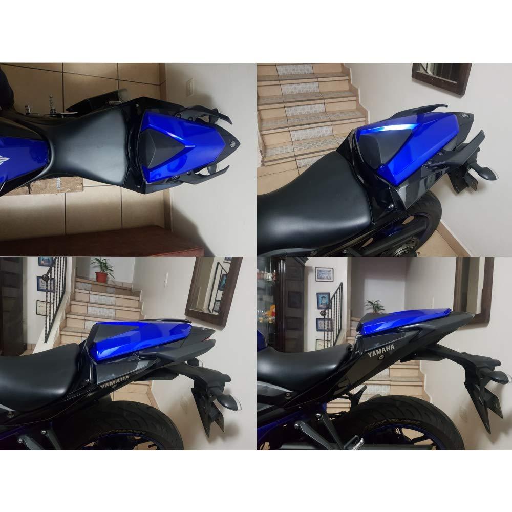 Black Rear Seat Pillion Cowl Cover Fairing For Yamaha YZF R25 R3 2013 2014 2015 2016 2017 2018 MT03 2014