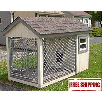 Amazon.com : Dog Kennel - Deluxe Outdoor House for Dogs