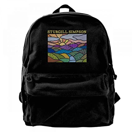WilliamBurton Sturgill Simpson High Top Mountain - Mochila de Viaje para Ordenador portátil de 14 Pulgadas