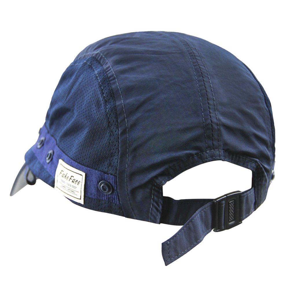 FakeFace Unisex Sombrero de Sol Gorra Visera//b/éisbol Deporte Secado r/ápido protecci/ón Solar Sombrero de Plein Air con m/áscara extra/íble UV//Mosquitos Transpirable para Pesca Ciclismo Caza UPF50/+