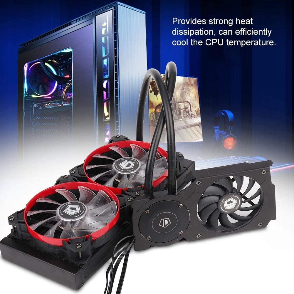 ID-Cooling Frostflow 240VGA Graphics Card CPU Radiator Cooling Fan Easy to Install Water Cooler