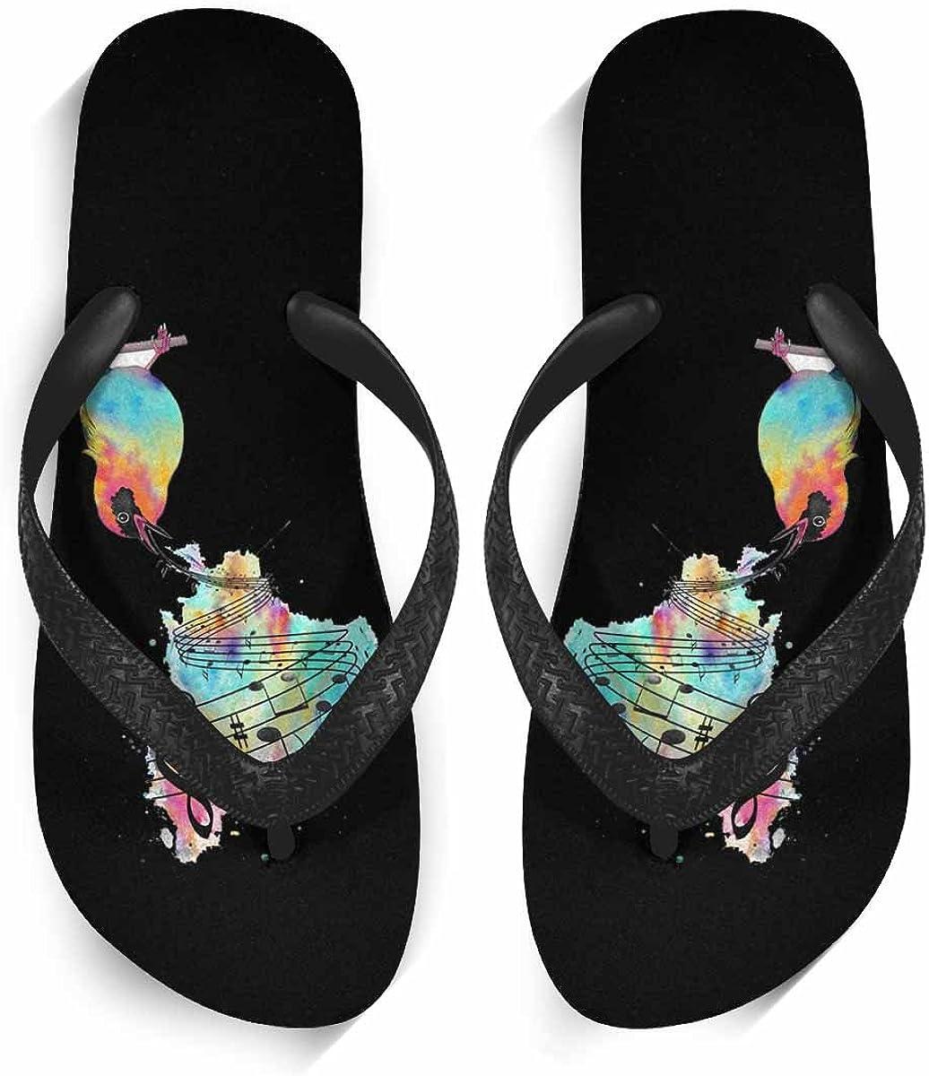 Womens Stylish Beach Flip Flops Anti-Slip Slippers