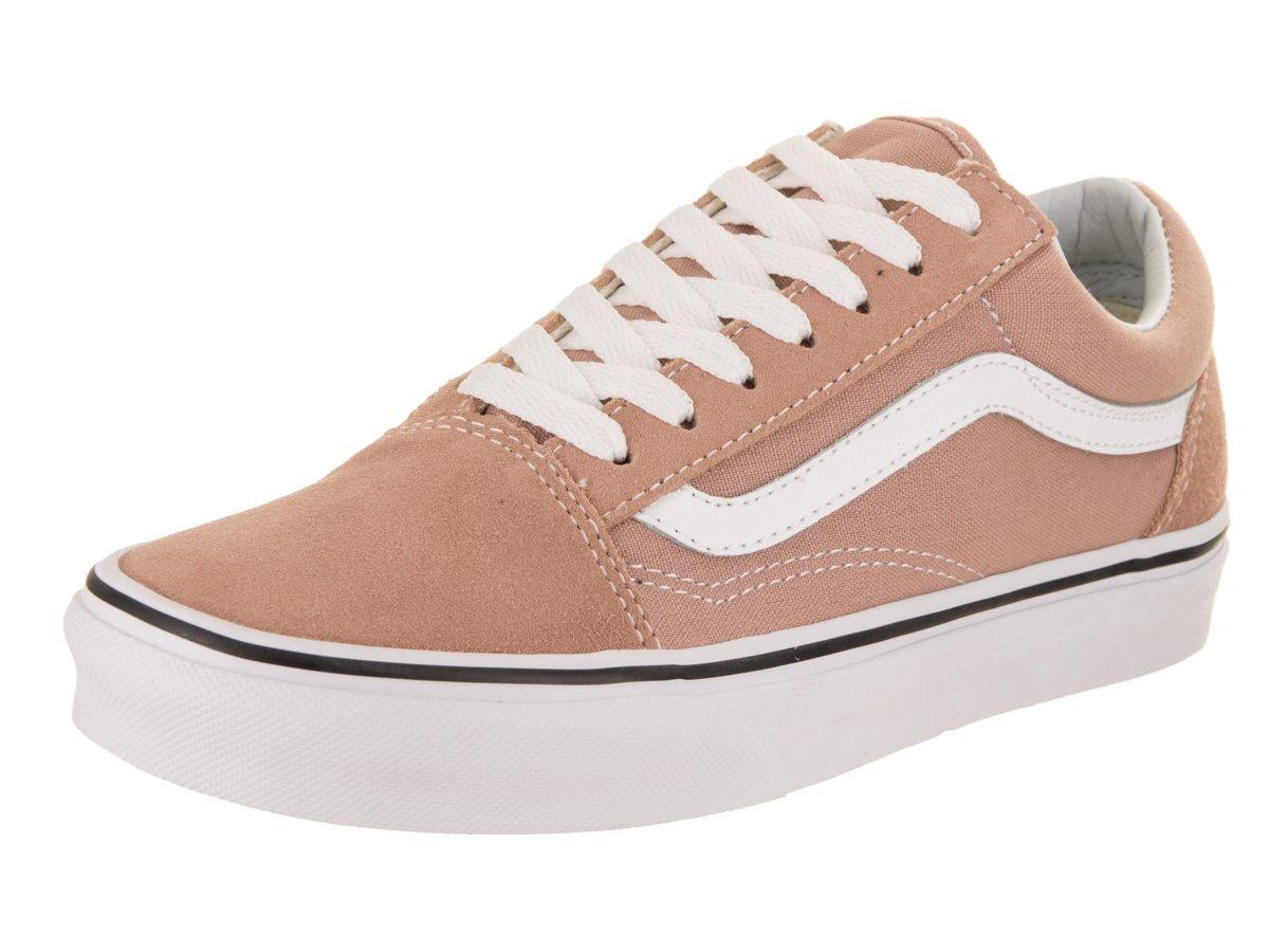 Vans Unisex Old Skool Classic Skate Shoes B071QWP135 8 D(M) US|Mahogany Rose / True White