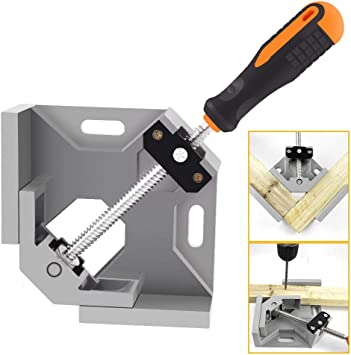 90 Degree Right Angle Woodworking Carpenter Corner Welding Clamp Tool Z