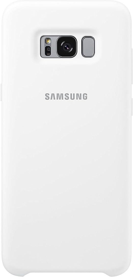 Samsung Silicone, Funda para smartphone Samsung Galaxy S8 Plus, Blanco (White): Samsung: Amazon.es: Electrónica