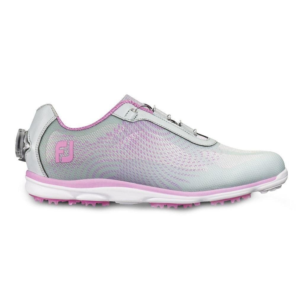 FootJoy EmPower BOA Golf Shoes CLOSEOUT Women B01I5PMJUU 7 M US|Silver/Lilac, Silver