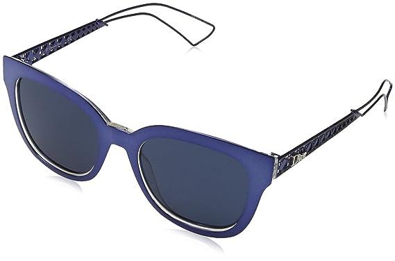 Christian Dior Damen Sonnenbrille DIORAMA1 KU Tgv, Blau (Bluette Crystal/Blue Avio), 52