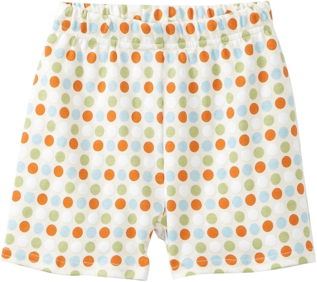 Zutano Unisex baby Sunset Dots Organic Short