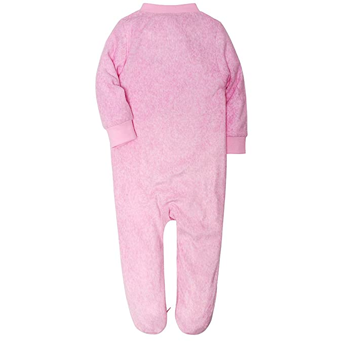 f119bf8f3 Amazon.com: HOOSION Toddler Infant Baby Girl Boy Long Sleeve Deer Romper  Jumpsuit Pajamas Xmas Outfit (Pink-Whale, 12-18 Month): Clothing