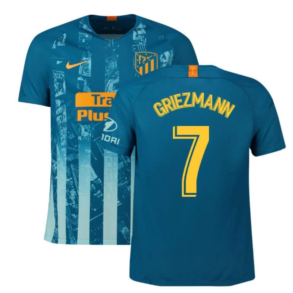 2018-2019 Atletico Madrid Third Nike Football Soccer T-Shirt Trikot (Antoine Griezmann 7)