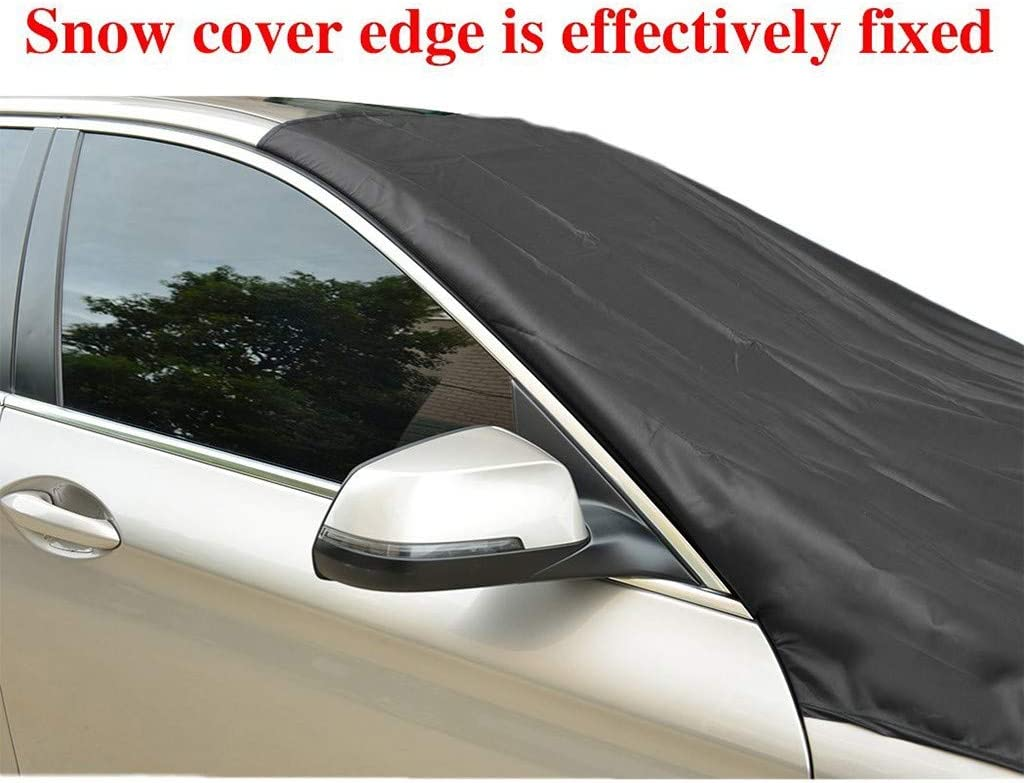 Frost Guard Protector Waterproof Windshield Protector Car//Truck//SUV Ice Cover Frost Car Windshield Snow Cover Car Windsheild Sun Shade YOJINKE Magnetic Edges Car Snow Cover