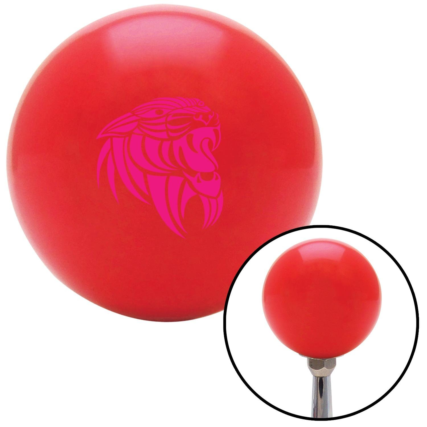 Pink Wildcat American Shifter 94021 Red Shift Knob with M16 x 1.5 Insert