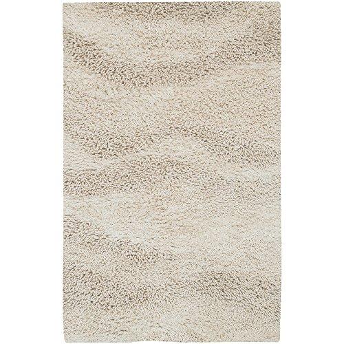 - Surya Berkley  Shag Hand Woven 100% New Zealand Wool Papyrus 8' x 10'6