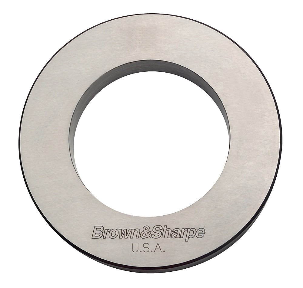 Brown /& Sharpe 599-281-4480 Inside Micrometer Setting Ring for Style A and Style B 4.4 Diameter