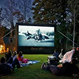CineBox Home 12' x7' Backyard Theater Projection