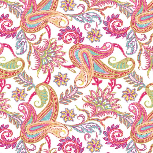- Jillson Roberts 24 Sheet-Count Premium Printed Tissue Paper Available in 8 Different Floral Designs, Perfectly Paisley