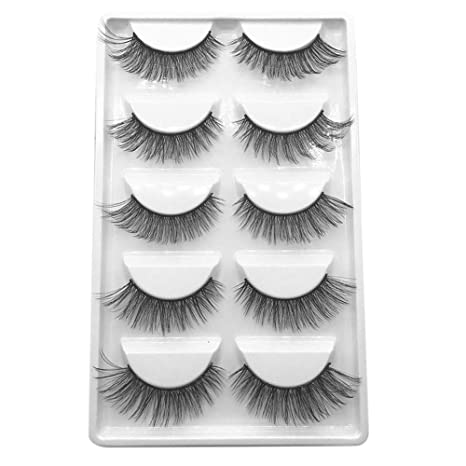 a061e71d747 Buy Sufeng Eyelash Beauty 5 Pair Long Natural Luxury 3D Lashes Fluffy Strip  Eyelashes Online at Low Prices in India - Amazon.in