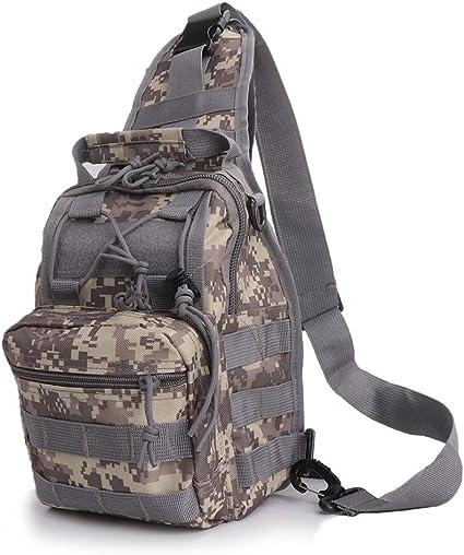 Water Resistant Back Pack Big Messenger Bags Tactical Shoulder Bag For Hiking