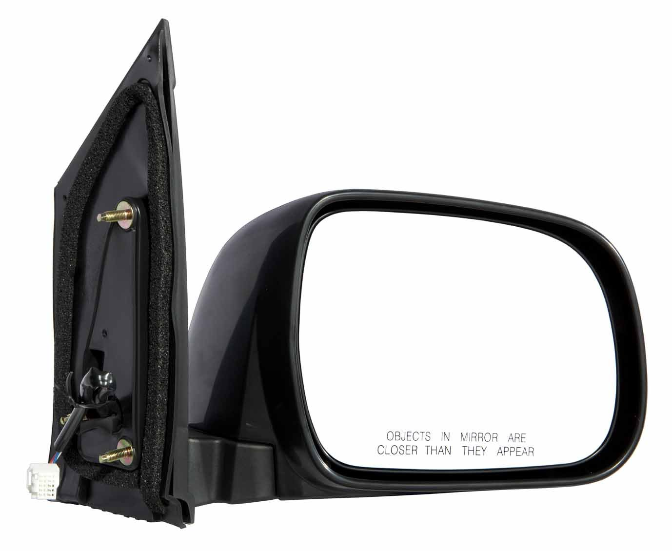 Gold Shrine for 2004 2005 2006 2007 2008 2009 2010 Toyota Sienna Power Side Mirror Driver Side Replacement