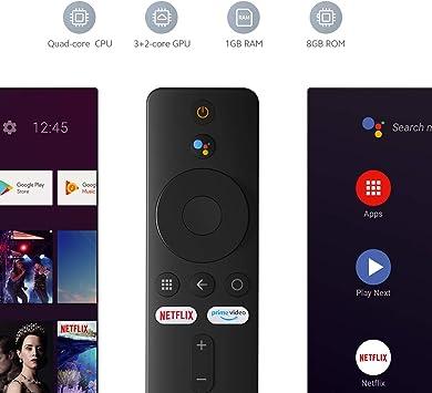 Xiaomi Mi TV Stick Reproductor de Medios de transmisión portátil: Amazon.es: Electrónica