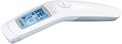 Beurer FT90 Termometro clinico digital sin contacto con lapiel, color blanco - 1 termometro digital