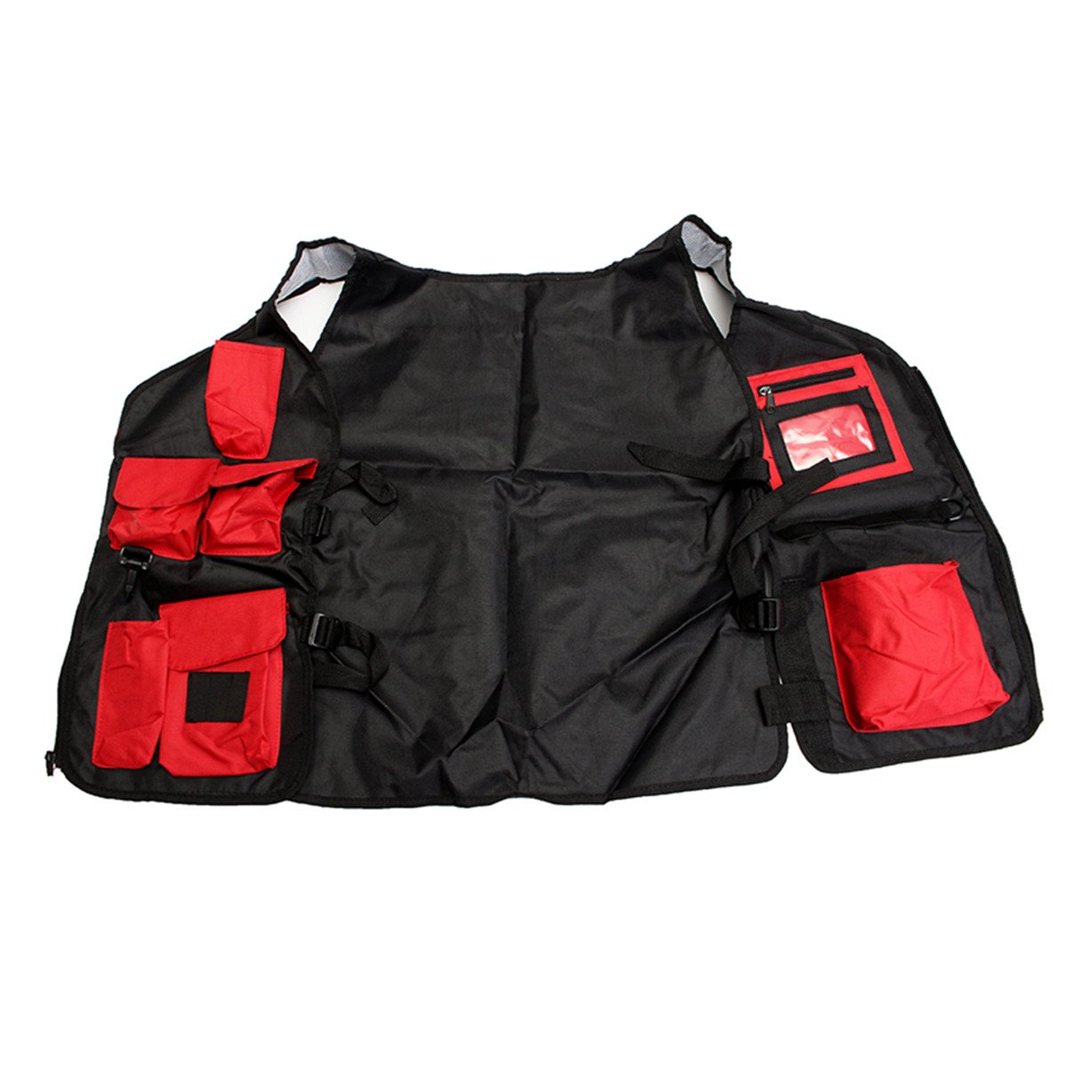 Tool Organizers Electrician Carpenter Plumber Craftman Construction Pouch Bag Tool Vest by Yoton (Image #8)