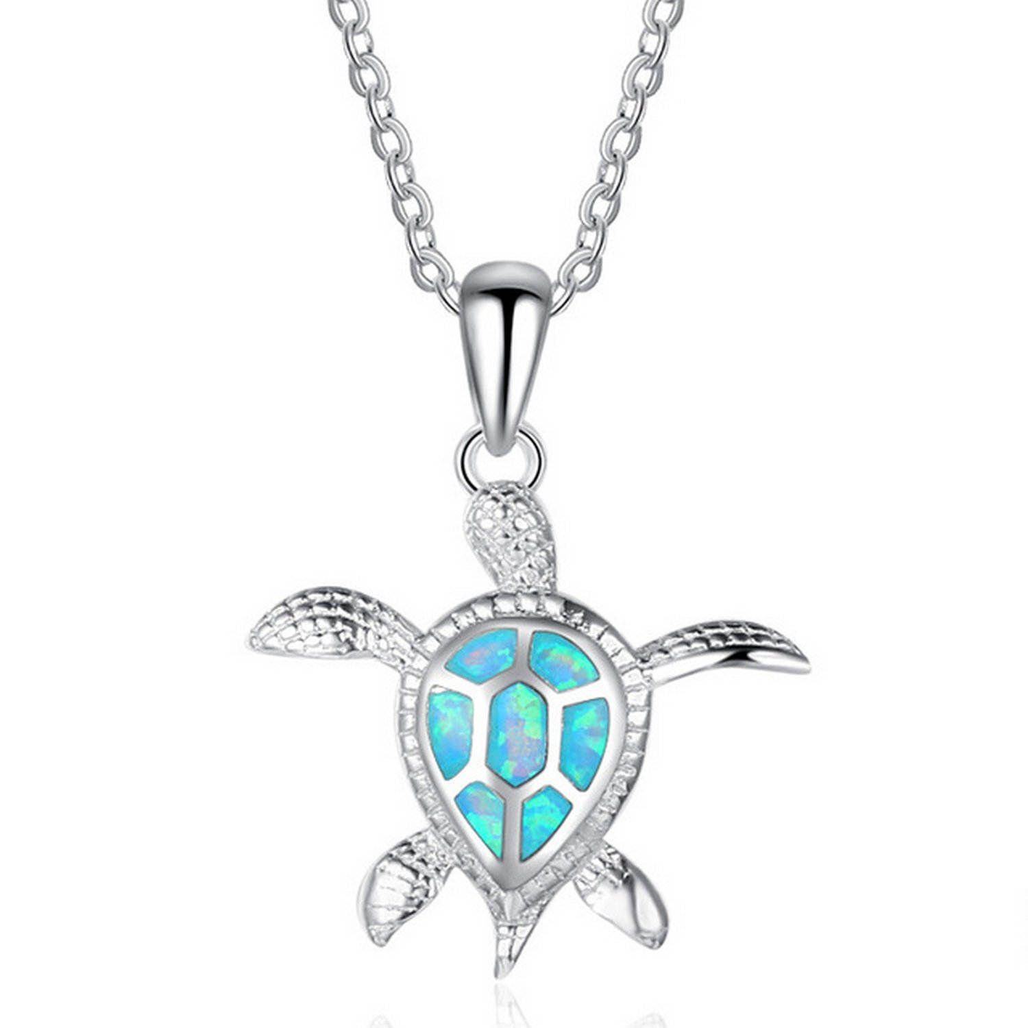 MMC Turtle Charm Silver Pendants Necklaces