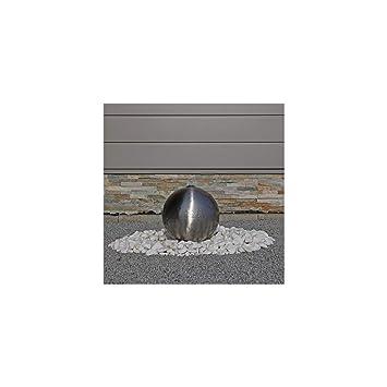 Kugel aus Edelstahl matt gebürstet für Gartenbrunnens Edelstahlkugel ...