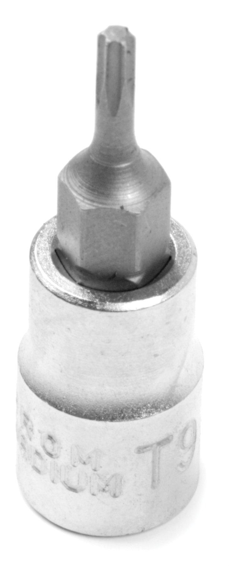 Performance Tool W1307 1/4'' Dr Star Bit T-9 Socket (CrV)