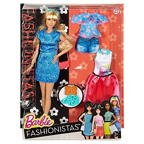 Barbie Fashionistas Fashions Lacey Blonde product image