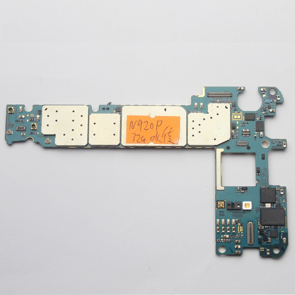 Imei Motherboard Logic Board Clean For Samsung Galaxy Request Note 5 N920p 32gb Unlocked Cell Phones Accessories