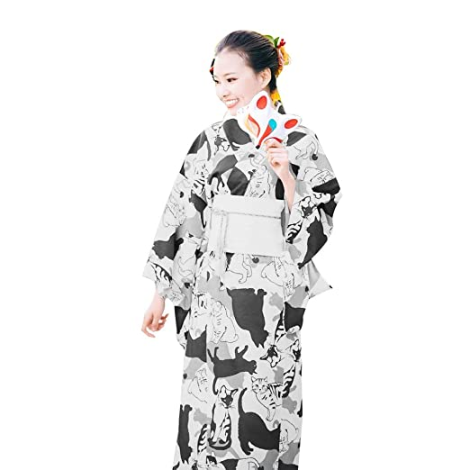 LiXiZhong Traje Tradicional Kimono De La Moda Japonesa para Mujer ...