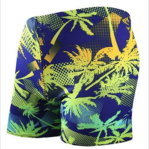 Skyeye Patrón Amarillo para Hombre Modelo árbol de Coco Traje de ...