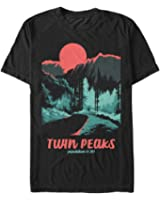 Twin Peaks Population Mens Graphic T Shirt