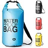Sacca Impermeabili Borsa Waterproof, Borse Impermeabili Dry Bag con Tracolla Regolabile, per attività all'Aperto e Sport d'Acqua Nave,Trekking,Kayak,Canoa, Pesca,Rafting